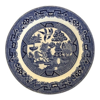 Blue and White Ridgways Plate For Sale