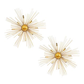 "Pair of ""Supernova"" Custome Made Sconces For Sale"