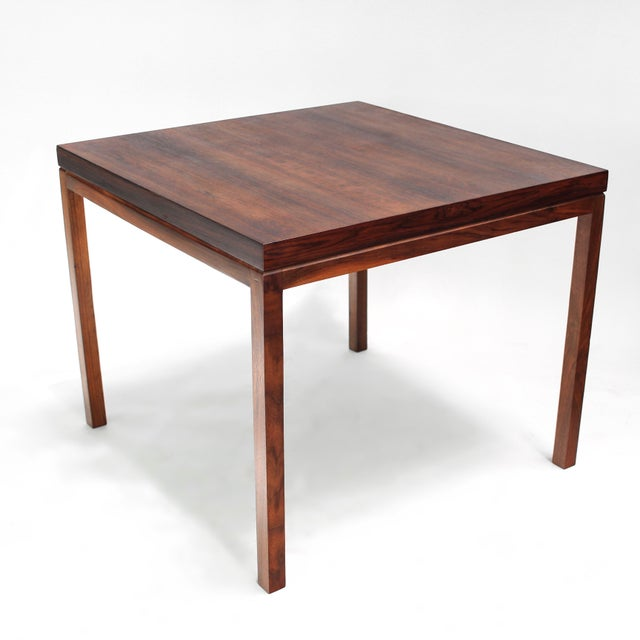 Milo Baughman Thayer Coggin Rosewood Table For Sale - Image 9 of 9