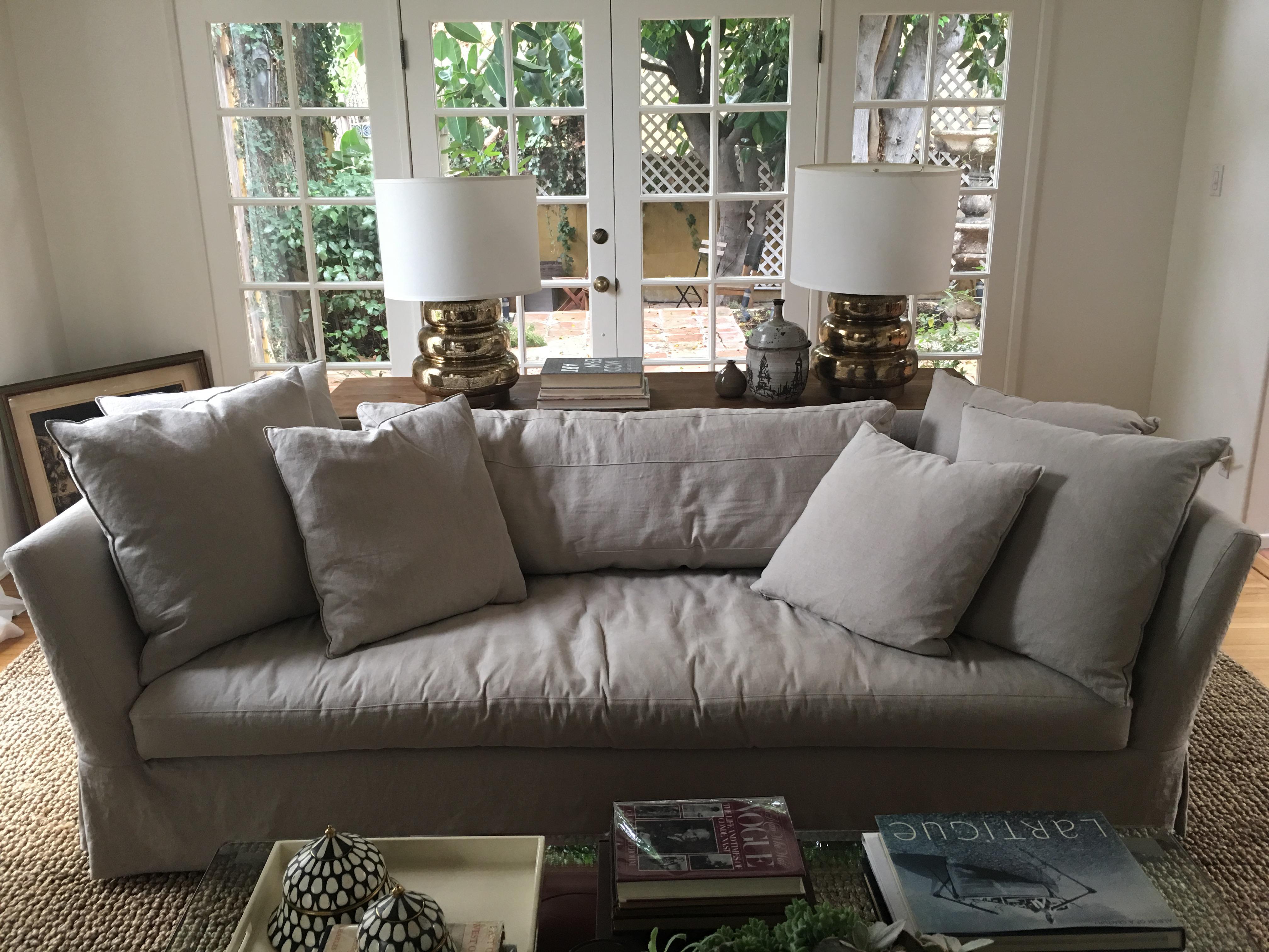 Cisco Brothers Seda Slipcover Sofa   Image 4 Of 5