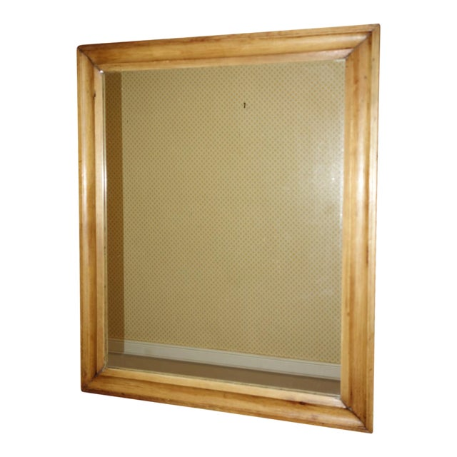 a610e93dbc2a Antique English Pine Mirror For Sale