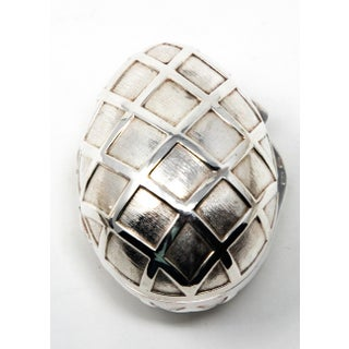 Sterling Silver Decorative Egg Box Preview