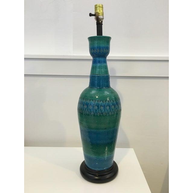 Bitossi Ceramiche Art Pottery Lamp - Image 3 of 9
