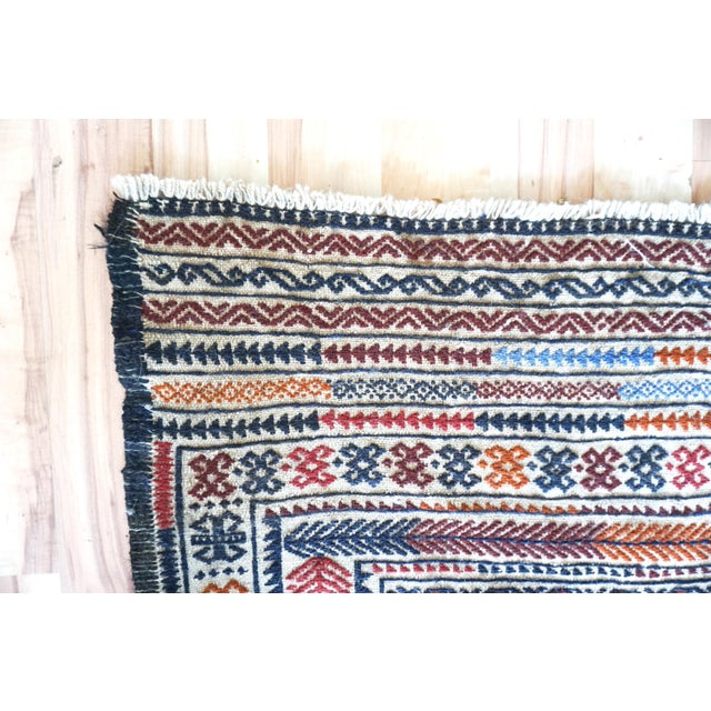 Vintage Turkish Kilim Rug - 3′11″ × 6′2″ - Image 5 of 7