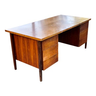 1960s Danish Modern Florence Knoll Desk For Sale