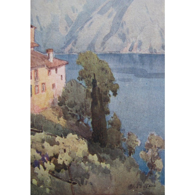 1905 Ella du Cane Print, Castagnola, Lago di Lugano - Image 3 of 4