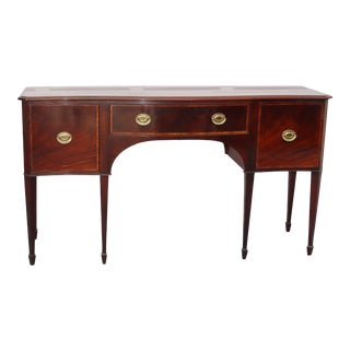 Baker Mahogany Inlaid Sideboard For Sale