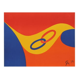 Flying Colors 2, Original 1974 Lithograph