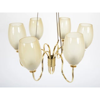 1950's Mid Century Light Fixture by Paavo Tynell Model Preview