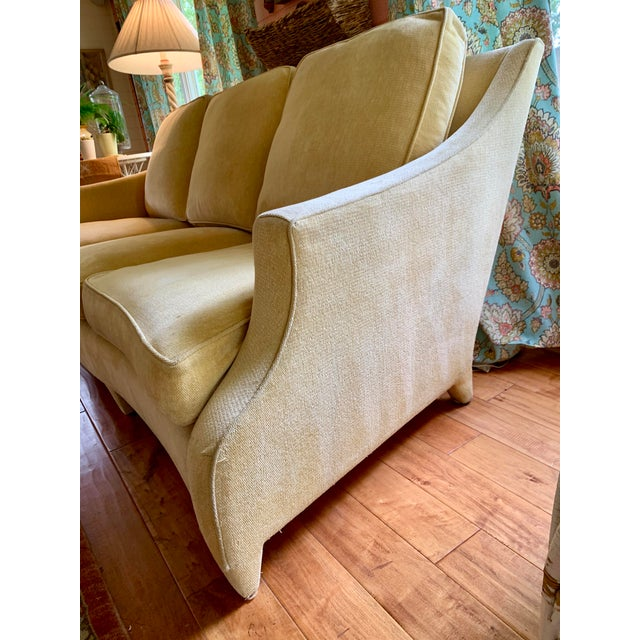 John Hutton John Hutton for Donghia Ogee Sofa For Sale - Image 4 of 10