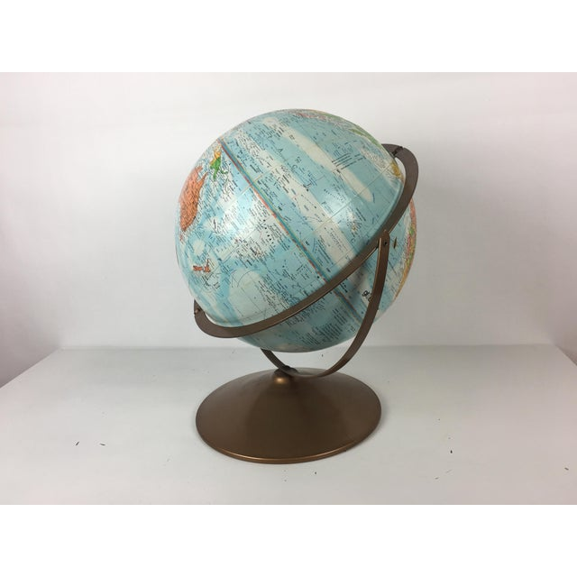 Vintage Globemaster Legend World Globe - Image 8 of 8