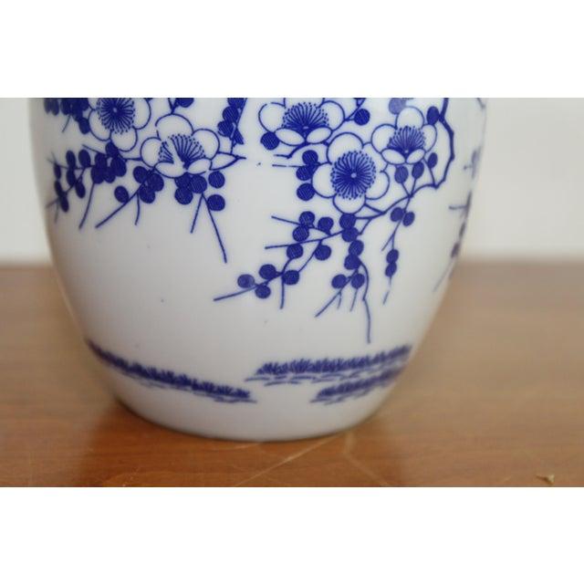 Vintage Chinese Ginger Jar For Sale - Image 4 of 6