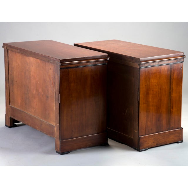 Pair Mahogany Chests With Black Detailing - Image 6 of 11