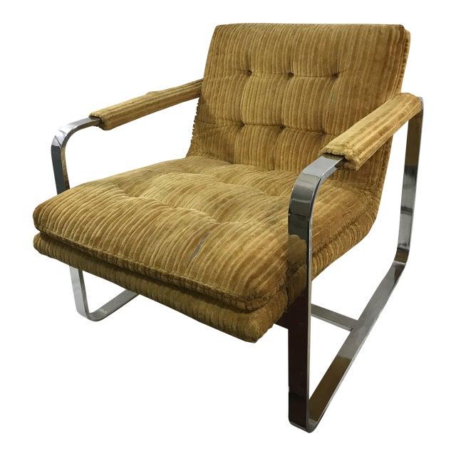 Milo Baughman Arm Chair For Sale
