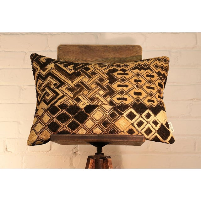 Kuba Vintage Geo Pillow - Image 3 of 5