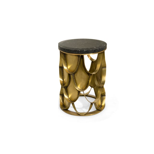 Koi Side Table From Covet Paris For Sale - Image 4 of 9
