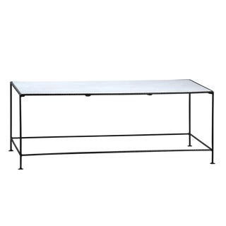 Iron & Marble Coffee Table