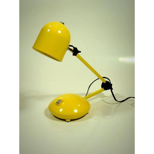 Vintage New Old Stock Electrix Desk Lamp Fantastic find of new old stock--never used bright yellow desk lamp by Electrix....