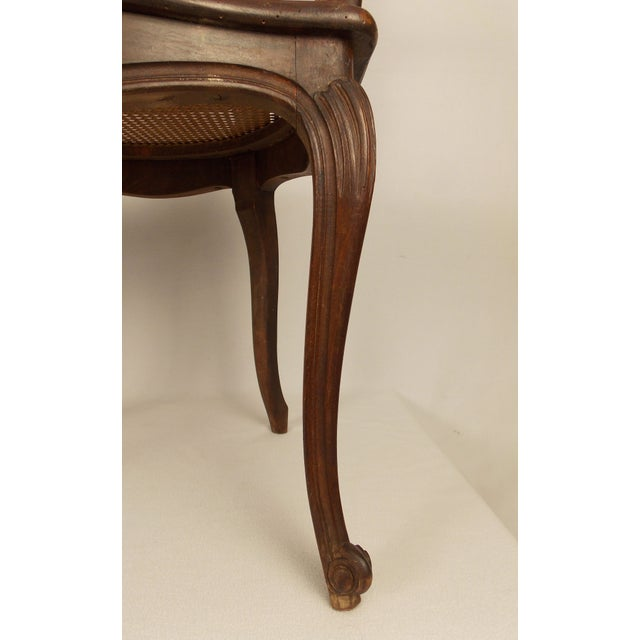 Louis XV Style Caned Chairs - A Pair - Image 4 of 6