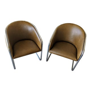 "Joan Burgasser for Thonet (Shelly Williams) ""Club Tub"" Chairs For Sale"