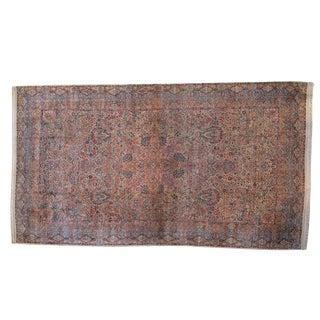 """Vintage Lavar Kerman Carpet - 11'4"""" X 19'7"""" For Sale"""