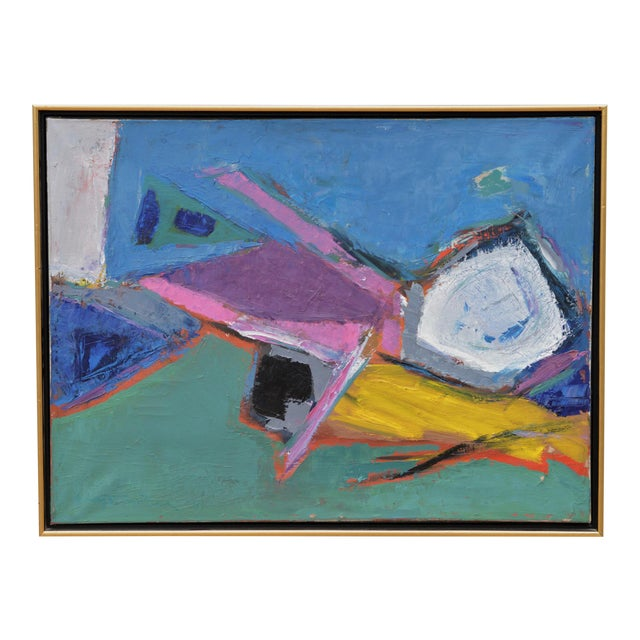 Sublime Modern Abstract Painting For Sale