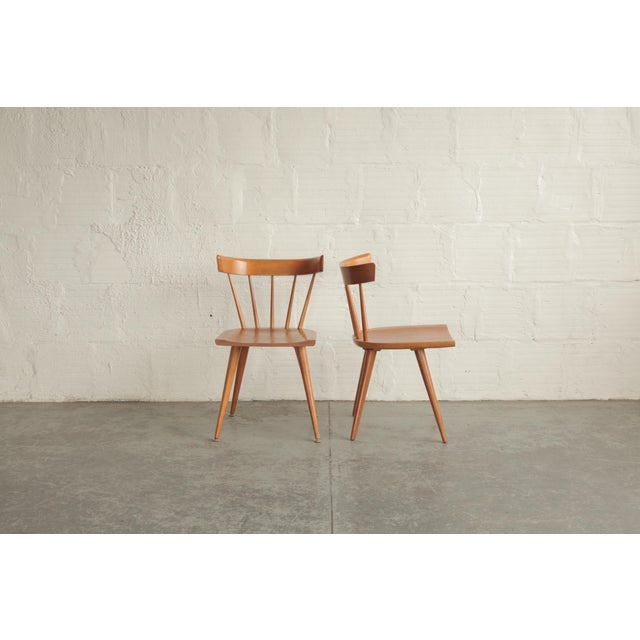 Winchendon Furniture Company Vintage Mid Century Paul McCobb Planner Group Dining Chairs- a Pair For Sale - Image 4 of 6