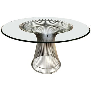 Warren Platner Dining Table for Knoll For Sale