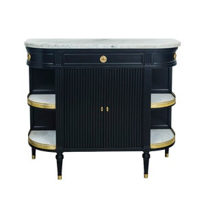 Antique French Louis XVI Style Sideboard in the Manner of Maison Jansen For Sale