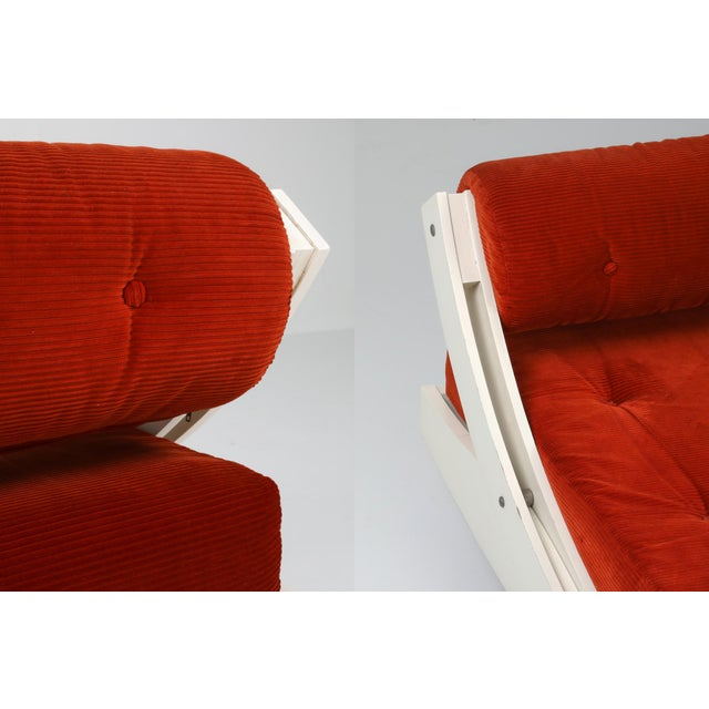 1960s Gs195 Daybed and Sofa by Gianni Songia For Sale - Image 9 of 11