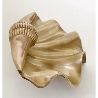 Hollywood Regency Brass Shell Preview