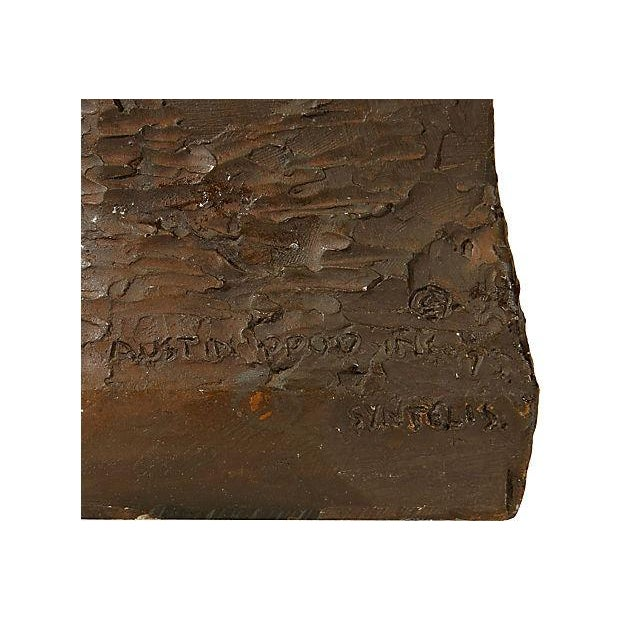 1970's Bronze Signed Sculpture - Image 5 of 5