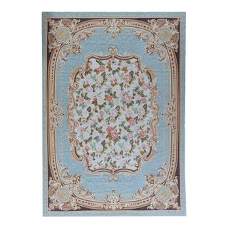 """Pasargad Aubusson Hand Woven Wool Rug - 10' 1"""" X 14' 3"""""""