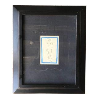 """Marino Marini """"Jongleur"""" Framed Print For Sale"""