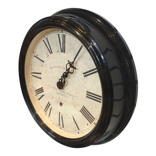 Newgate Clock Co. British Vintage Style Wall Clock For Sale
