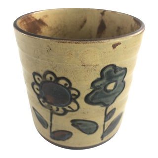 Stoneware Pottery Planter For Sale