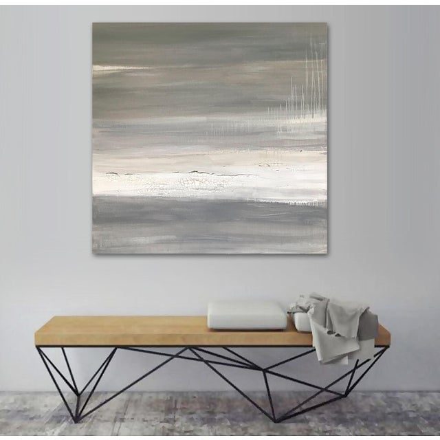 Canvas Fracture' Original Abstract Painting by Linnea Heide For Sale - Image 7 of 9