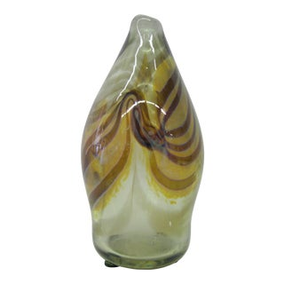 One-Of-A-Kind Hand Blown Glass Piece