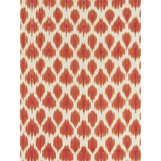 Scalamandre Amara Ikat Weave, Sunset Fabric Preview