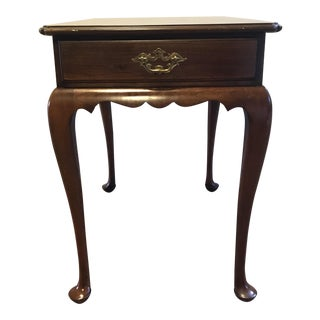Statton Trutype Americana Cherry Wood End Table