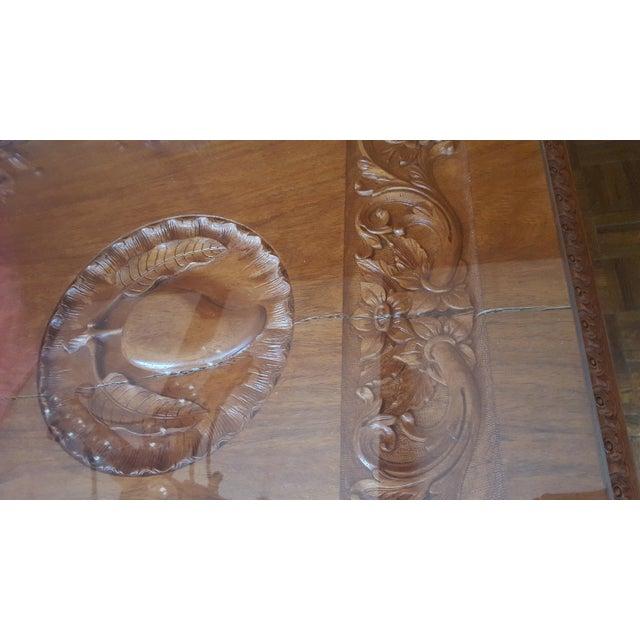 Rare Antique Narra Wood Dining Set - Image 10 of 11