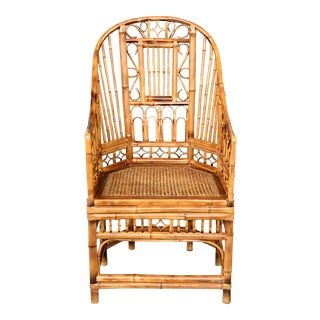 Brighton Pavilion Tortoise Bamboo Chair For Sale
