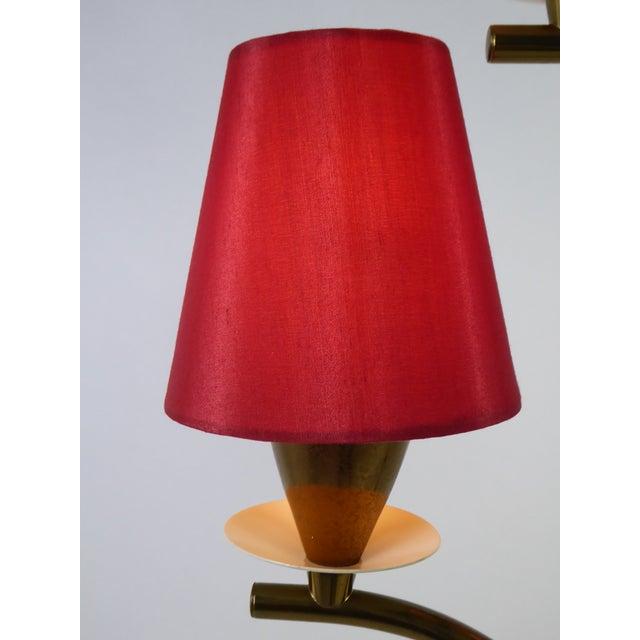 Modern Italian Five Light Floor Lamp 1940s For Sale - Image 9 of 13