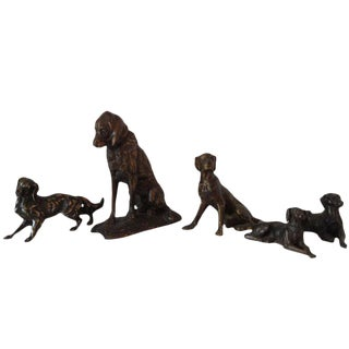 Cast Iron Dogs Priced Individually For Sale
