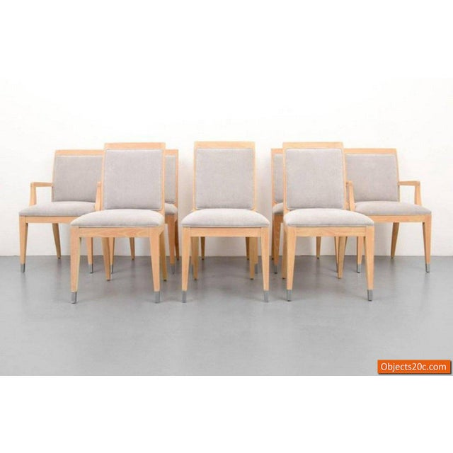 Tan Jay Spectre for Century Mid-Century Modern Dining Chairs- Set of 8 For Sale - Image 8 of 10