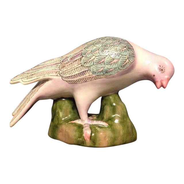 H.F.P. Macau Porcelain Dove Figurine - Image 1 of 9