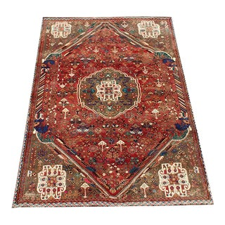 "Antique Persian Southwest Rug 5'2'x7'11"" For Sale"