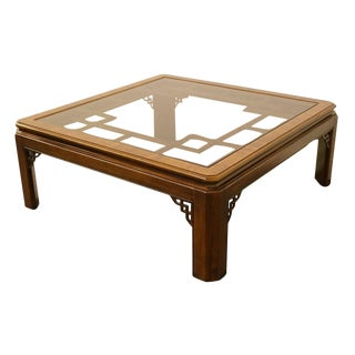 20th Century Chippendale Drexel Collection Coffee Table For Sale