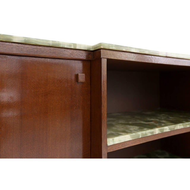 Emiel Veranneman onyx marble credenza For Sale - Image 6 of 7