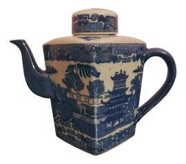 Image of Antique White Tea Pots